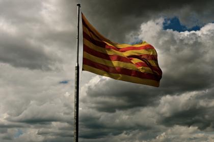 Spanish Flag Monjuic
